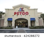 petco on march 2017 in orlando  ... | Shutterstock . vector #624288272