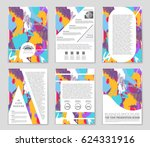 abstract vector layout... | Shutterstock .eps vector #624331916