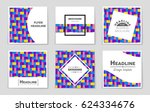 abstract vector layout... | Shutterstock .eps vector #624334676