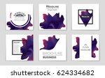 abstract vector layout... | Shutterstock .eps vector #624334682