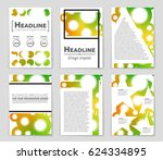 abstract vector layout... | Shutterstock .eps vector #624334895