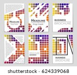 abstract vector layout... | Shutterstock .eps vector #624339068