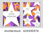 abstract vector layout... | Shutterstock .eps vector #624340376