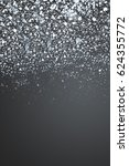 abstract silver background with ... | Shutterstock . vector #624355772