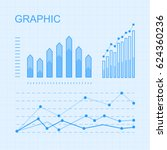 set of graphic elements for... | Shutterstock .eps vector #624360236