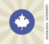 leaf icon. sign design.... | Shutterstock .eps vector #624369092