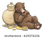 Chubby Cute Bear  Sleeping Nex...