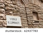Illuminati Road Sign In The...