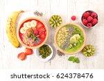 smoothie | Shutterstock . vector #624378476
