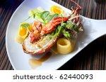 lobster plate   Shutterstock . vector #62440093