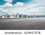 cityscape of modern city from... | Shutterstock . vector #624417578