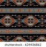 vector seamless decorative...   Shutterstock .eps vector #624436862