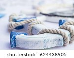 Blue And White Wooden Anchor...