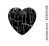 vector illustration heart in...   Shutterstock .eps vector #62445148