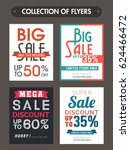 big sale and discounts... | Shutterstock .eps vector #624466472
