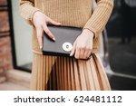 fashionable women bag | Shutterstock . vector #624481112