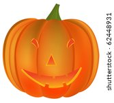 halloween pumpkin  abstract art ... | Shutterstock . vector #62448931