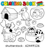Coloring Book With Pets 1  ...