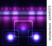 glowing violet vector background | Shutterstock .eps vector #62449375