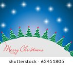 christmas abstract background | Shutterstock .eps vector #62451805