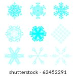 icon set of 9 different...