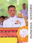 Small photo of File photo of Thai King Maha Vajiralongkorn Bodindradebayavarangkun looks on in Bangkok on May 13, 2015.