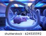 newborn child baby having a... | Shutterstock . vector #624535592