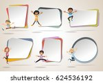 vector banners   backgrounds... | Shutterstock .eps vector #624536192