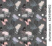 abstract vector seamless... | Shutterstock .eps vector #624548402