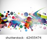 abstract colorful futuristic