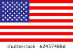 usa flag | Shutterstock .eps vector #624574886