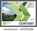 presentation layout design... | Shutterstock .eps vector #624593288