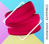 design spring summer banner... | Shutterstock .eps vector #624594812