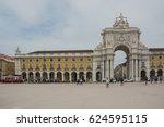 lisbon  portugal  june  2016 ... | Shutterstock . vector #624595115