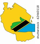 welcome to tanzania   Shutterstock .eps vector #62460118