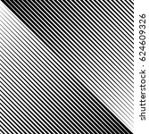 abstract linear black and white ... | Shutterstock . vector #624609326
