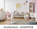 Baby Room In Scandinavian Styl...