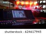 working sound panel on... | Shutterstock . vector #624617945