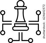 digital strategy vector icon | Shutterstock .eps vector #624642572