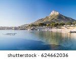 lions head   cape town  | Shutterstock . vector #624662036