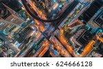 transaction beautiful road top... | Shutterstock . vector #624666128