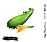 digital art illustration of... | Shutterstock . vector #624670652
