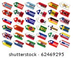 collection of labels | Shutterstock .eps vector #62469295