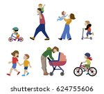 a vector illustration of... | Shutterstock .eps vector #624755606