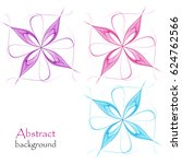 abstract background with...   Shutterstock .eps vector #624762566