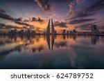 bahrain world trade center  ... | Shutterstock . vector #624789752