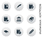 vector illustration set of... | Shutterstock .eps vector #624795236