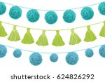 vector colorful vibrant... | Shutterstock .eps vector #624826292