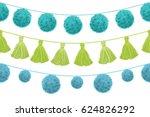 vector colorful vibrant... | Shutterstock .eps vector #624826292