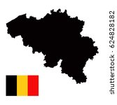 vector illustration of belgium... | Shutterstock .eps vector #624828182